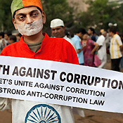 Youth Against Corruption rally in India (2012)