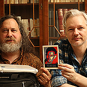 'Yes, We Can' - Dr Richard Stallman with Edward Snowden for Julian Assange (2014)
