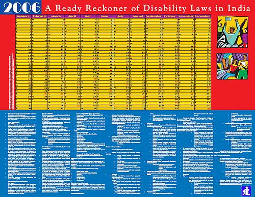Shishu Sarothi Ready Reckoner of Disability Laws in India